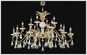 Chandeliers from Spain